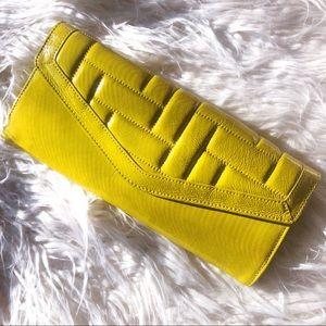 Hobo International Hot Yellow Clutch